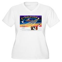 XmasSunrise/3 Cavaliers T-Shirt