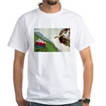 Michelangelo: Pong White T-Shirt
