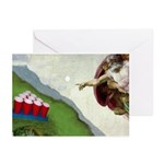 Michelangelo: Pong Greeting Cards (Pk of 10)