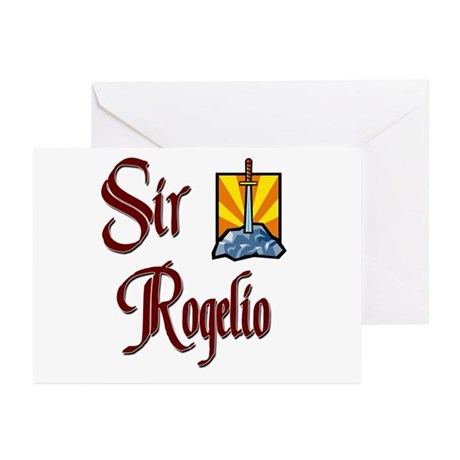 Sir Rogelio Greeting Cards (Pk of 10)