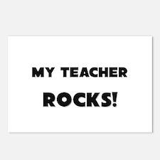 MY Teacher ROCKS! Postcards (Package of 8)