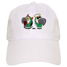 Angel Devil Severe Macaw Baseball Cap