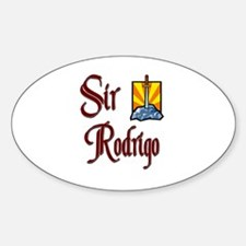 Sir Rodrigo Oval Decal