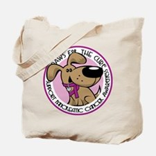 Paws for the Cure: Tote Bag