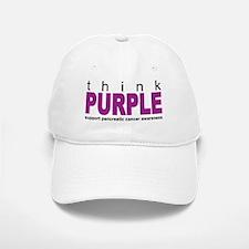 Think Purple: Pancreatic Cancer Baseball Baseball Cap