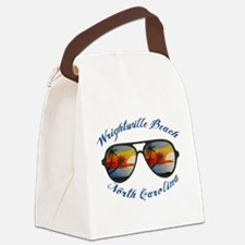 North Carolina - Wrightsville Bea Canvas Lunch Bag