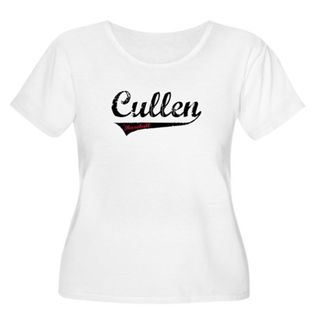 Cullen Baseball Women's Plus Size Scoop Neck T-Shi
