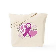 Pancreatic Cancer: PLC Tote Bag