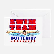 Swim Team Greeting Card