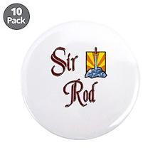 "Sir Rod 3.5"" Button (10 pack)"