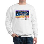 XmasSunrise/English Setter #1 Sweatshirt