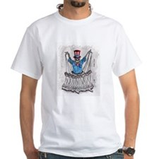 Uncle Sam's Deathly TV (White T)