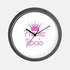 Princess Rocio Wall Clock