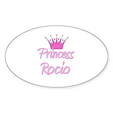 Princess Rocio Oval Decal