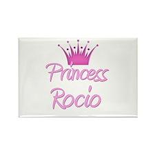 Princess Rocio Rectangle Magnet