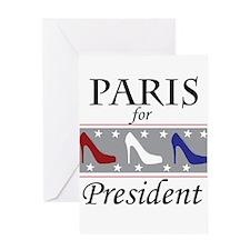 Patriotic Paris Greeting Card