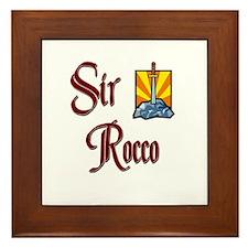 Sir Rocco Framed Tile