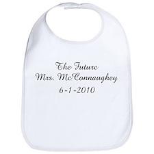 The Future Mrs. McConnaughey Bib