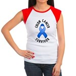 Colon Cancer Survivor Women's Cap Sleeve T-Shirt