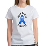 Colon Cancer Survivor Women's T-Shirt