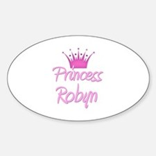 Princess Robyn Oval Decal