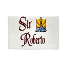 Sir Roberto Rectangle Magnet