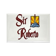 Sir Roberto Rectangle Magnet (10 pack)