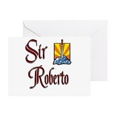 Sir Roberto Greeting Card