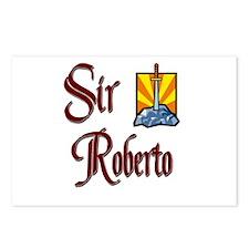Sir Roberto Postcards (Package of 8)
