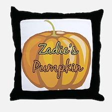 Zadie's Pumpkin Throw Pillow