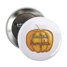 """Zadie's Pumpkin 2.25"""" Button"""