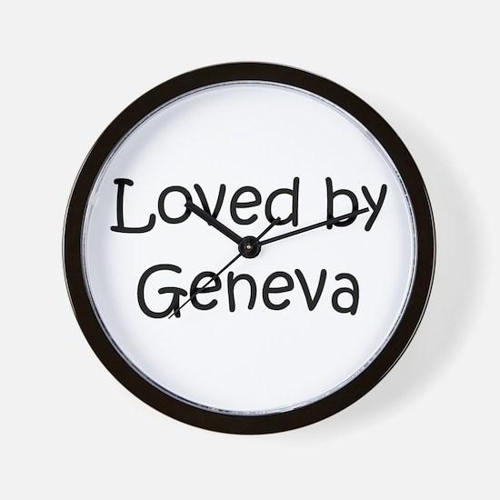 Cute Geneva Wall Clock