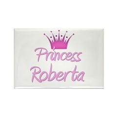 Princess Roberta Rectangle Magnet