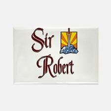 Sir Robert Rectangle Magnet