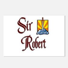 Sir Robert Postcards (Package of 8)