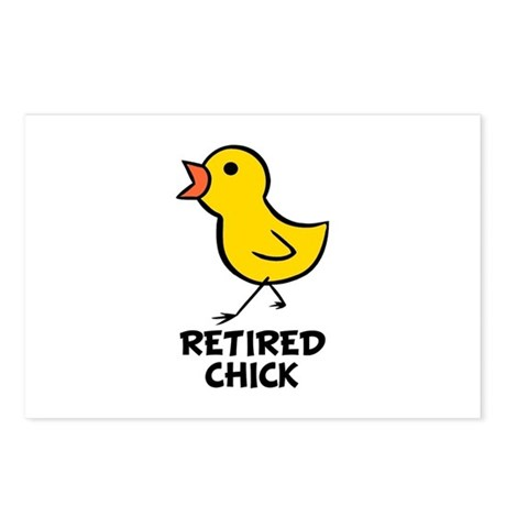 Chick Postcards (Package of 8)