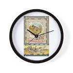 Thanksgiving Joy Wall Clock
