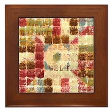 Beloved Framed Tile