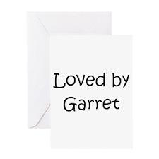 Unique Garret Greeting Card