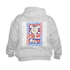 Unique God bless military Hoodie