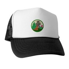 Santa & An Irish Setter Trucker Hat