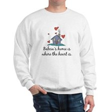 Babcia's Home is Where the Heart Is Sweatshirt