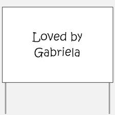 Cool Gabriela Yard Sign