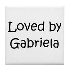 Unique Gabriela Tile Coaster