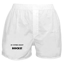 MY Systems Analyst ROCKS! Boxer Shorts