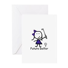 Girl Future Golfer Greeting Cards (Pk of 20)