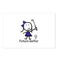 Girl Future Golfer Postcards (Package of 8)