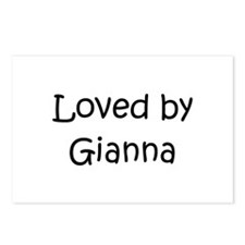 Unique Gianna Postcards (Package of 8)