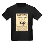 John Wesley Hardin Kids Dark T-Shirt