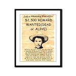 John Wesley Hardin Framed Panel Print